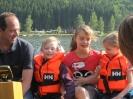 Kinder erleben die Donau